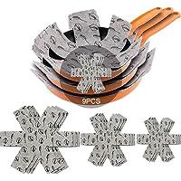 Meiso Lot de 9 protège-poêles en feutre rembourré pour séparer et protéger les surfaces de vos ustensiles de cuisine et…