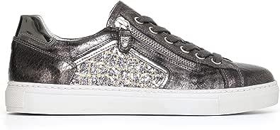 Nero Giardini A719521D Sneakers Donna in Pelle E Tela