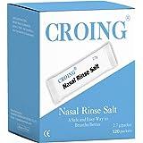 CROING - 120 x Sale Lavaggio Nasale per Pulizia & Irrigazione del Naso , Lavaggi Nasali , Irrigatore Nasale , Irrigazione Nas