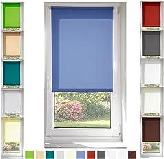 Tageslichtrollo diverse Größen und Farben für fenster ohne Bohren