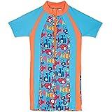 Veilkini Kids Sun Suit V01DN180103, Swim Wear for Boys and Girls, Light Blue