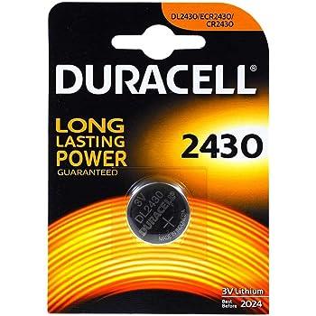 Duracell baterÃÂa de litio Knopfz 2430. 3V 1 ª.