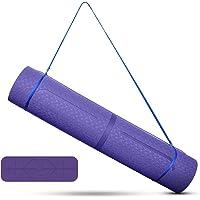 Tappetino da yoga, Uong TPE tappetino da ginnastica, tappetino da yoga, antiscivolo, per fitness, pilates e ginnastica…