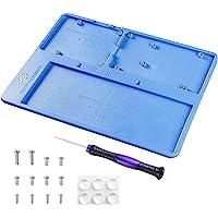 SUNFOUNDER Arduino Raspberry Pi Holder Breadboard RAB 5 in 1 Base Plate Case for Arduino R3 Mega 2560, Raspberry Pi 4B 3…