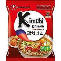 Nong Shim Instant pasta, Kim Chi ramen, confezione da 20 (20 x 120 g Confezione)