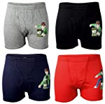 BODYCARE Ben 10 Printed Trunk for Boys Pack of 4