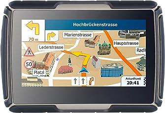 NavGear Fahrrad Navi: TourMate N4, Motorrad-, Kfz- & Outdoor-Navi mit Deutschland (Motorradnavigationsgerät)