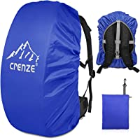 Regenschutz für Rucksäcke, Crenze 15-90L Wasserdichter Regenhülle Rucksack Cover für Wandern, Camping, Radfahren, Reisen…
