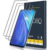 QHOHQ Protection écran pour Realme 6/Realme 6S/RealmeNarzo, [Lot de 3] Film Verre Trempé, 9H Dureté - sans Bulles - Anti-Rayures - Anti-Empreintes Digitales