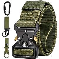 AivaToba Cintura Tattica Uomo Heavy Duty Nylon Cintura Cobra Militare Esercito con Fibbia in Metallo a Sgancio Rapido…
