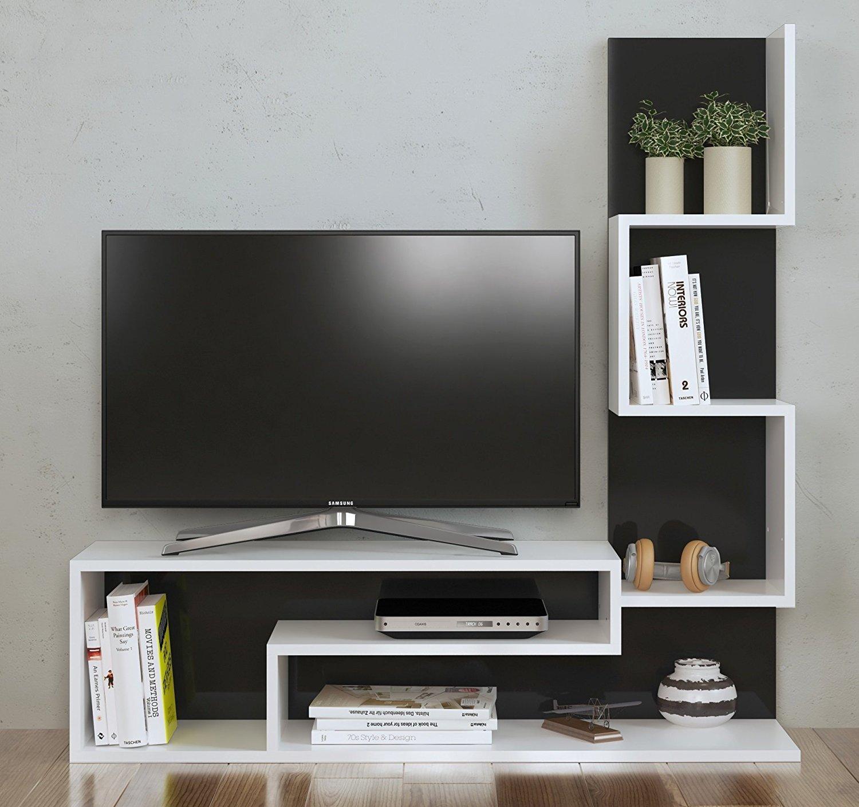 Mimosa set soggiorno   mobile tv porta con mensola in moderno ...