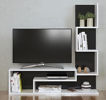 MIMOSA Set Soggiorno - Mobile TV Porta con mensola in moderno ...