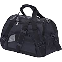 Kraptick Large Pet Travel Carriers, Pet Carrier Bag, Airline Approved Duffle Bags, Pet Travel Portable Bag for Little…