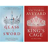 Glass Sword: Red Queen Book 2 + King's Cage (Red Queen) (Set of 2 books)