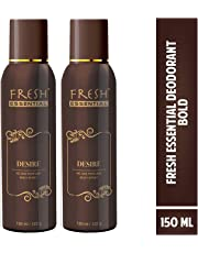 Fresh Essential No Gas Deodorant - Desire, 150 ml (Pack of 2)
