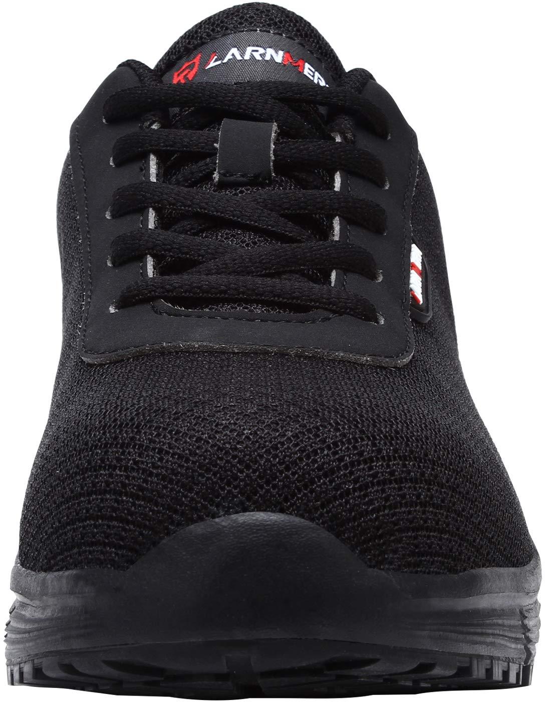 taille 40 d740b 92e91 LARNMERN Baskets de Sécurité Femme, LM-8038 SRC Respirables Ultra Légères  Chaussures de Travail Antidérapant