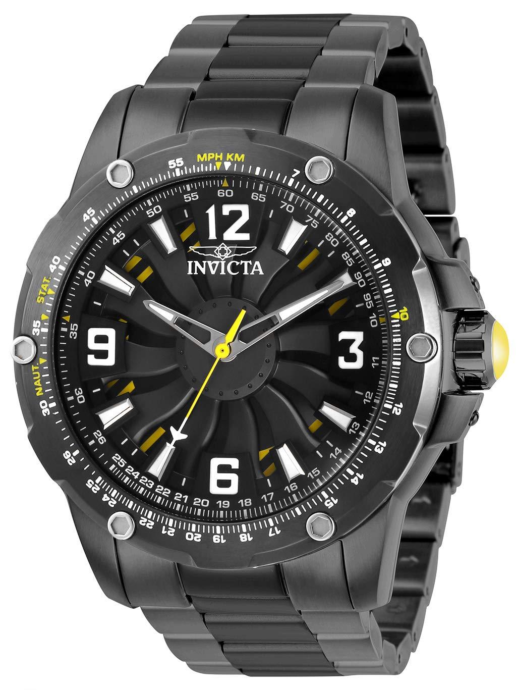 Invicta 28287 S1 Rally Reloj para Hombre acero inoxidable Automático Esfera