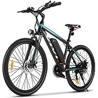 """VIVI Ebike Mountainbike, 26""""/27,5"""" Elektrofahrrad Pedelec, 350W E-Bike Herren und Damen mit Abnehmbarer 10,4 Ah Lithium…"""