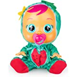 CRY BABIES Tutti Frutti Mel - Bambola Interattiva Profumata all'Anguria con Lacrime Ver