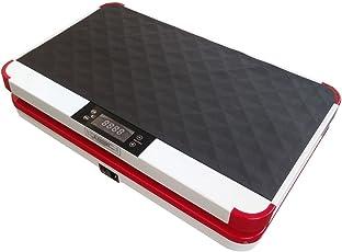 VibroSlim Ultra Pro Vibrationsmaschine Plattform Power Fitnessmaschine - 3 Jahre Garantie; DVD, Poster und Armriemen Inklusive