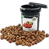 CiboCrudo Nocciole Sgusciate Biologiche Crude, Raw Organic - 250gr - Prodotto in Italia, Migliore Nocciola al Mondo, Calibro