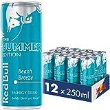 Red Bull Energy Drink Summer Edition, Beach Breeze, Dosen Getränke, 12er Pack (12 x 250 ml)