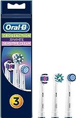 Oral-B Multi Pack 3 in 1 Aufsteckbürsten, CrossAction, Sensitive, 3DWhite, 3 Stück