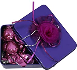 Skylofts Stylish 100Gms Chocolate Ractanguler Tin Gift Pack