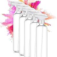 ImnBest 500ML Vaporisateur Vide (5PCS), Flacon Pompe à Gâchette en Plastique PET , Clean Flacon Pulvérisateur…