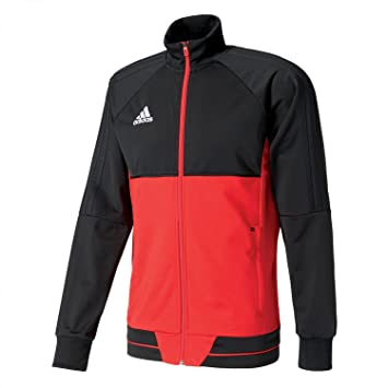 adidas Kinder Tiro 17 PES Jacket Youth Trainingsjacke Black