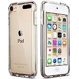 ULAK Funda iPod Touch 7, iPod Touch 5/6 Carcasa Híbrido Clear Slim Cubierta de la Caja Suave Resistente a Rayones Absorción d