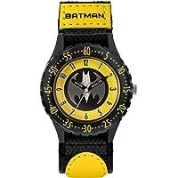 BATMAN Orologio Analogico Bambino con Cinturino in Tela BAT5244ARG