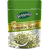 Happilo Premium Pumpkin Seeds - Roasted, Lightly Salted Pouch, 200 g