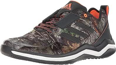 Adidas Speed 3.0 Cross Trainer Scarpe da ginnastica da uomo, Grigio (Dark Grey/Dark Grey/White), 36.5 EU