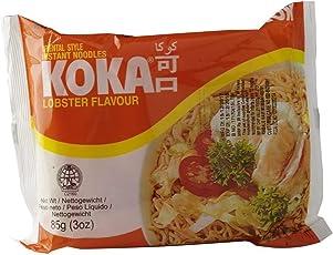 KOKA Oriental Instant Lobster Flavour Noodles - Pack of 9