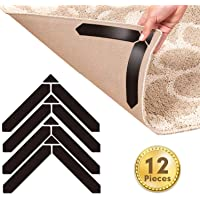 Mewtwo Teppich Anti Rutsch Unterlage, 12 Stück Anti Rutsch Teppichunterlage Für Hartholzböden und andere, Washable…