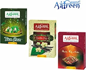 Aafreen Hookah Molasses Exotic Hookah Flavours/Paan Mashup (Teen, Vanila and Rasila) - Pack of 3
