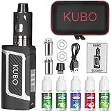 Cigarrillo electrónico Kit Cigarro electrónico y 5x10 ml E líquido 80W Mod con 0,5 Ohm/ 3 ml Atomizador 2000 mAh Batería Vape