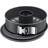 Kaiser La Forme Plus Springform, 26 cm rund, 2 Böden, Flach- und Rohrboden, runde Backform, SafeClick-Verschluss…