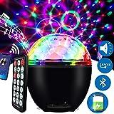 LED discobal 16 verlichtingsvorm muziekgestuurd discolicht lichteffecten met USB-kabel en batterij disco partylicht voor Hall