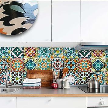 Carrelage X Cm PUV Décoration Adhésive Effet - Stickers carrelage cuisine 15x15 pour idees de deco de cuisine