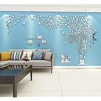 Stickers Muraux Arbre Cadre de Photo Stickers 3D DIY Mural Autocollants Arts Décoration de la Maison pour Chambre…