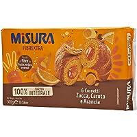Misura Cornetti Fibrextra Arancia, Carota e Zucca, Confezione da 300g