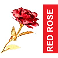 Webelkart® Red Rose 10 INCHES with Gift Box - Best Gift for Loved Ones, Valentine's Day, Anniversary, Birthday, Rose Day, Friendship Day
