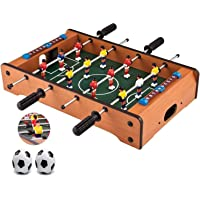 Sky Tech® Table Soccer Game,Mini Football,Mid-Sized Foosball Game for Family - 4 Rods, 20 Inches (50 Cms) Toys & Games…
