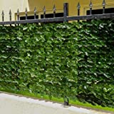 YATAI Artificial Apple Leaf Privacy Fence Screen - Artificial Hedges Fence Faux Vine Leaf For Outdoor Garden Décor – Plastic