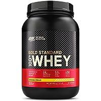 Optimum Nutrition Gold Standard 100% Whey Proteine in Polvere con Proteine Isolate, Aminoacidi e Glutammina per la Massa…
