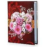 Sehaz Artworks Pink Roses Small Photo Album Baby Photo Album 4x6 Holds 104 Photos Polaroid Photo Albums