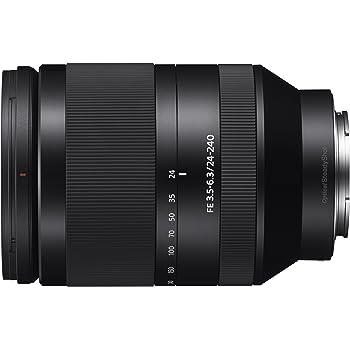 Sony SEL24240 - Objetivo para cámaras con Montura Tipo E de Distancia Focal 24-240mm, Negro