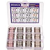 BojACK 4 valörer 120 st 3 5 10 13 A amp 240 V volt hushåll stickpropp säkring 6,3 x 25 mm 0,25 x 1 tum BS1362 keramisk tub ka